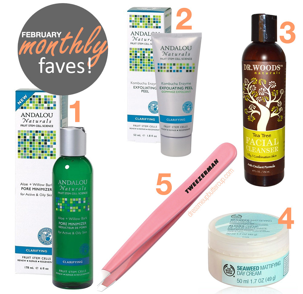 Top 5 February Monthly Beauty Favorites