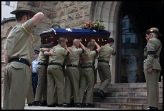 Army Funeral St Stephens