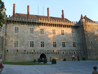 Paço dos duques de Bragança,Guimaraes