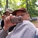 Gabe and his camera phone by Jason Pratt
