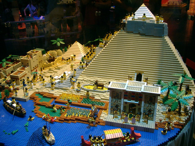 Ancient Egypt in Lego | Flickr - Photo Sharing!