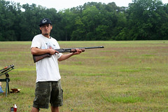 shooting(1.0), clay pigeon shooting(1.0), sports(1.0), recreation(1.0), outdoor recreation(1.0), skeet shooting(1.0),
