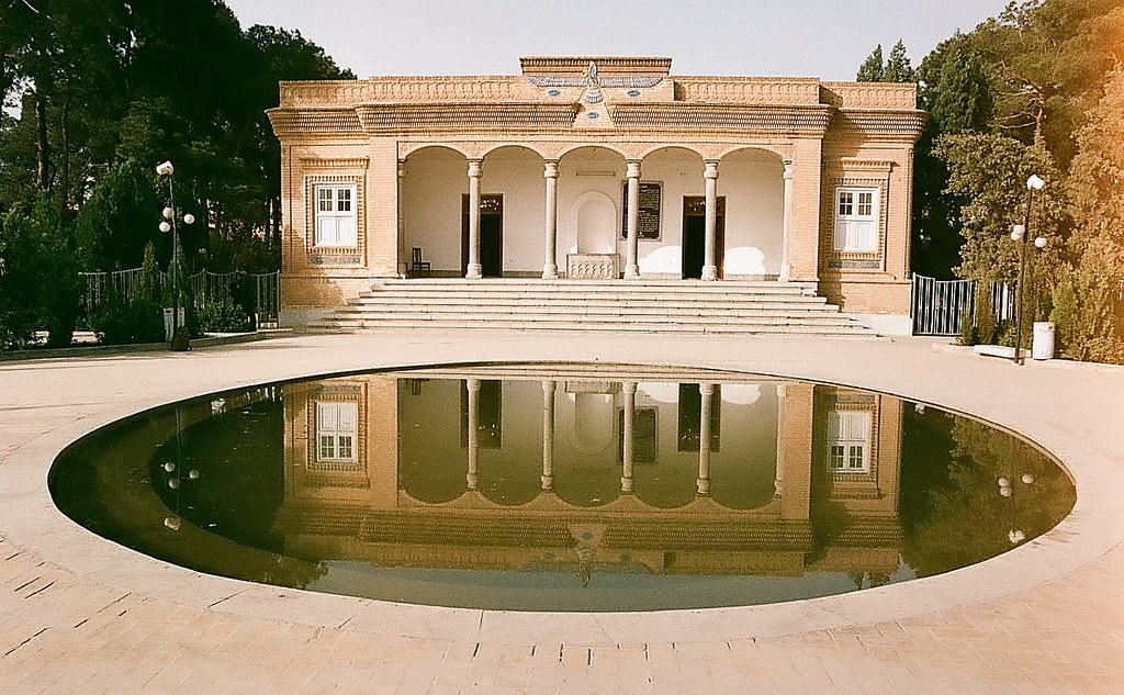 The Zoroastrian temple of Yazdآتشكده زرتشتيان يزد