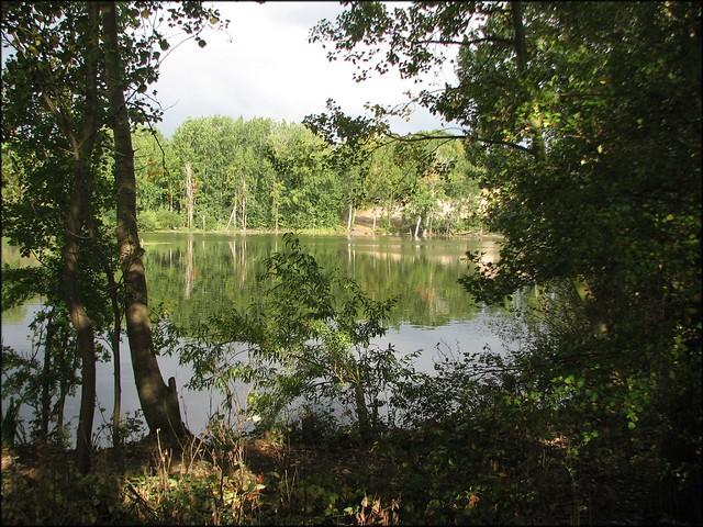 Fishing lake at Cattawde