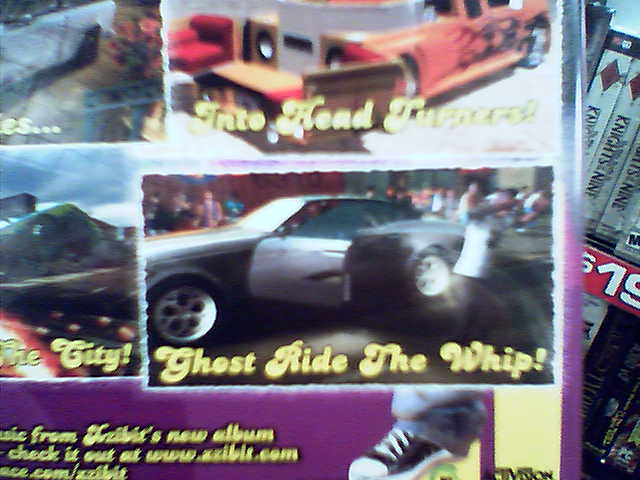 from the back of the Pimp My Ride PS2 game box  Flickr