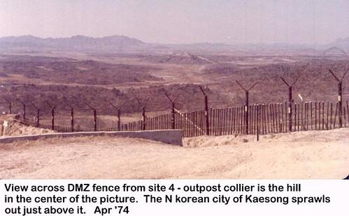 koreandmz dmz radar dmzfence groundsurveillanceradar kaesong radarsite barrierfence