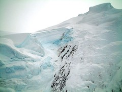 arctic ocean(0.0), ice cave(0.0), melting(0.0), ice(0.0), glacier(0.0), iceberg(0.0), glacial landform(1.0), ice cap(1.0), polar ice cap(1.0),