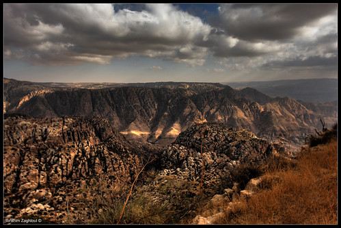 Wadi Dana Trail   (HDR) version