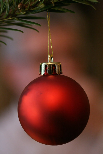 Red X-mas ornament | Flickr - Photo Sharing!