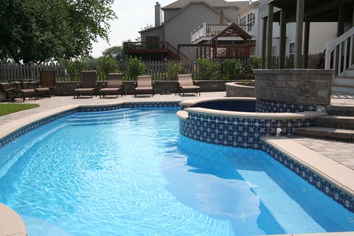 Swimming pool tile choices and options signature for Pool tile designs