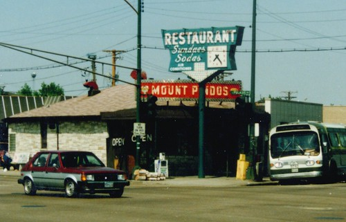 The original Mount Pindo's restaurant. Chicago Illinois. May 1986. by Eddie from Chicago