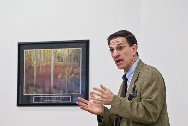 Ethan Bronner speaks at UVSC on Flickr