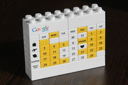 Photo:google lego calendar By:keso