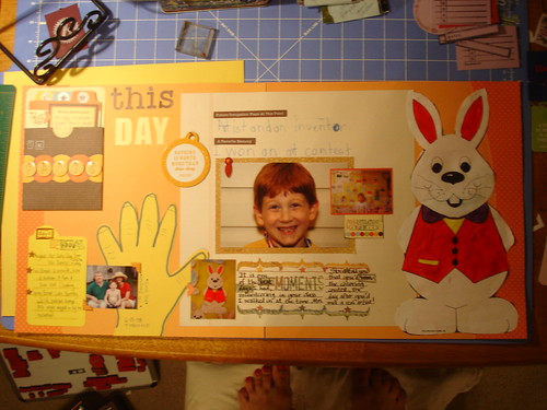 The Layout--1st Grade, Special Days