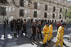 "The European firemen enter the Palacio de la Moneda. A ceremony of thanks was held and chaired by the Chilean Ministry of Foreign Affairs Heraldo Muñoz. He said that their ""spirit gave [the Chilean people] strength.""  Photo: EU/ECHO/V. Rodas"