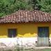 Yellow house - Casa amarilla; Yorito, Yoro, Honduras