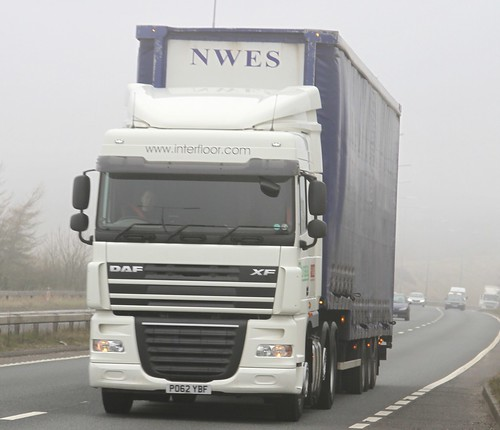 DAF XF 6x2 PO62YBF Foggy Day  140314 082