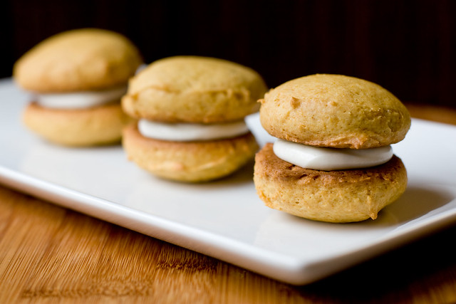 Pumpkin Whoopie Pies with Cream Cheese Filling | Flickr - Photo ...