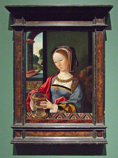 Saint Louis Art Museum, in Saint Louis, Missouri - painting of Saint Mary Magdalene.jpg
