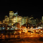 Calgary Evening Skyline