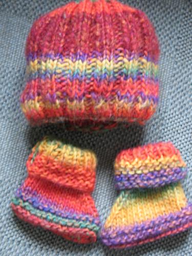 Baby Hat & Booties