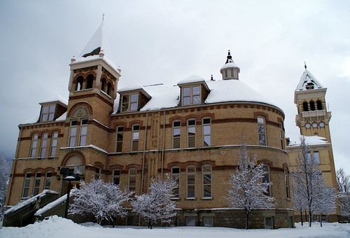 Old Main at Utah State University