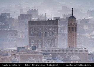 Yemen  - Special light in Sanaa