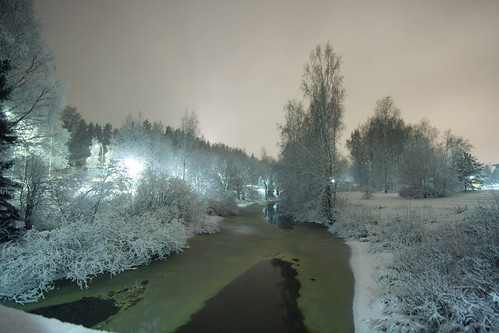 morning trees winter light snow cold ice nature water night rural creek finland river dark landscape geotagged streetlight frost december wideangle muddywater darkwater riverbank bushes smalltown naturephotography mäntsälä icywater nightimagesallphotoswelcome ultimatelandscapes