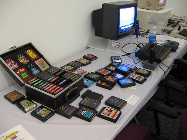 Atari 2600 + games