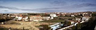 P30T> zamora. trascastillo desde la muralla. octubre 1998