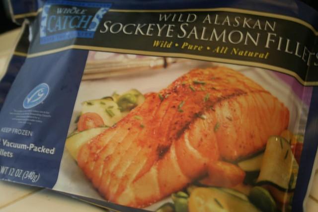 Whole Foods Farmed Salmon