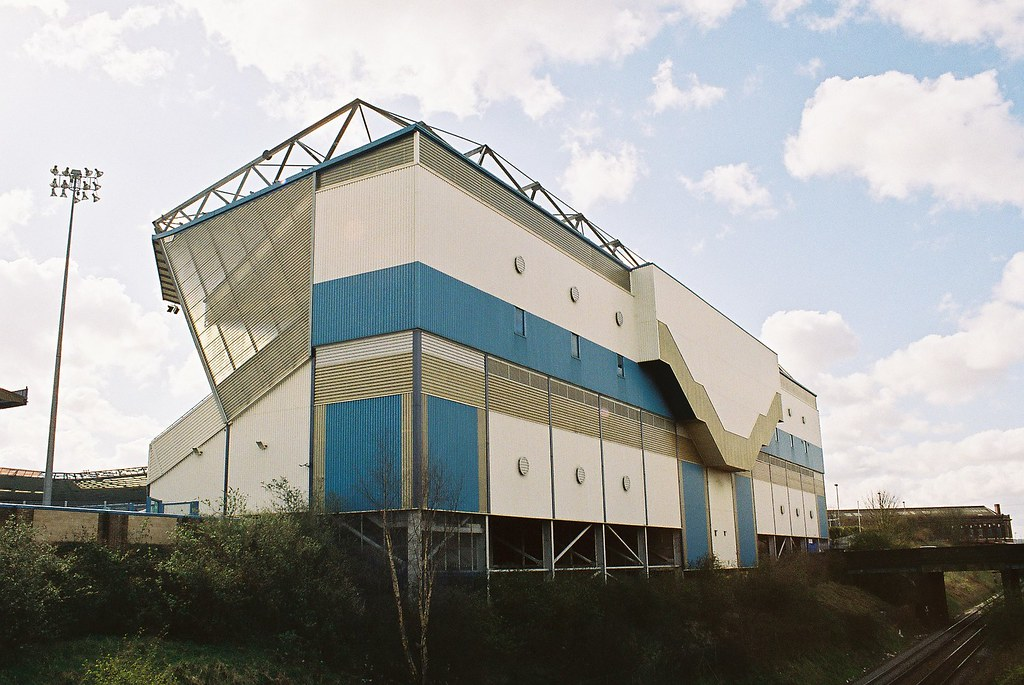 Gil Merrick Stand, Railway End, St Andrews