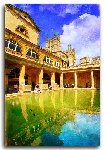 england reflection heritage water bath roman victorian spa archiecture reminds platinumphoto colourartaward goldstaraward flickrlovers