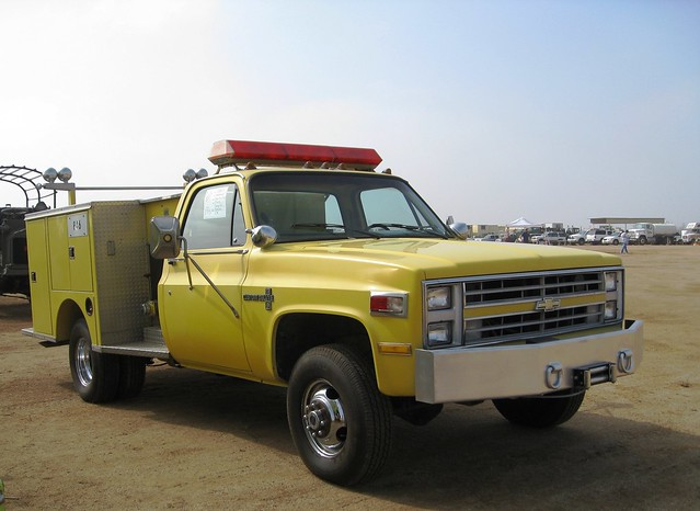 Chevrolet Fire Truck Mini-pumper By Crown