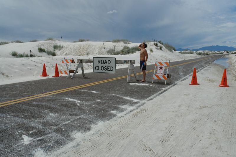 Cuando hay pruebas militares en la zona, no es posible visitar el Parque Nacional de White Sands. white sands, un desierto único que cambió el mundo - 2527430373 7faa3e657c o - White Sands, un desierto único que cambió el mundo