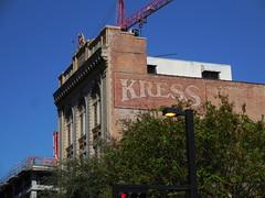 Kress Building - Ghost Sign - Tampa Florida
