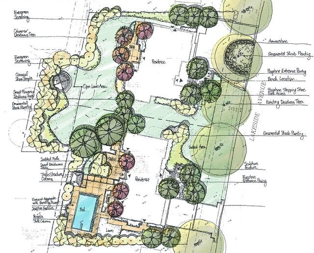 Landscape Architectural Sketches Landscape Architect Sketch