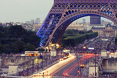 Eiffel Tower, Paris, France by Greg Bajor