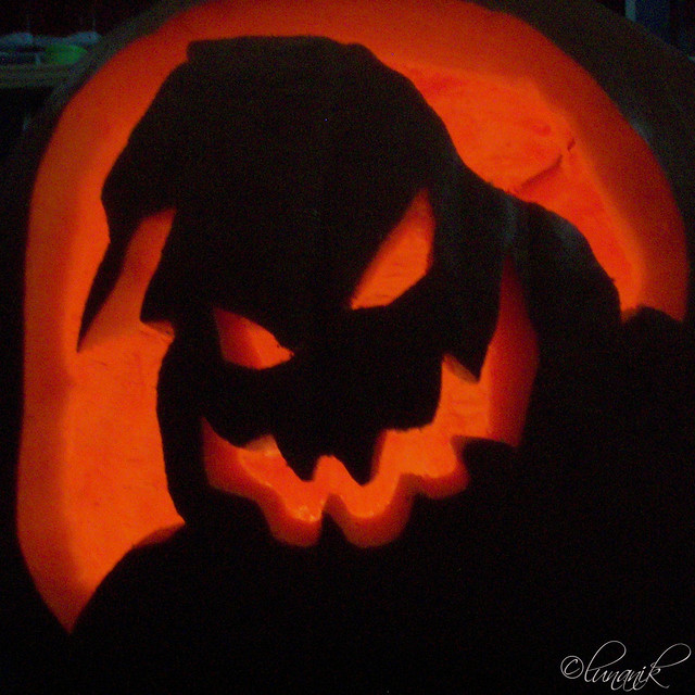 Oogie boogie pumpkin flickr photo sharing
