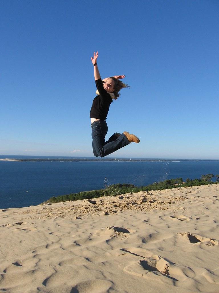 Dune du Pyla - Jumping