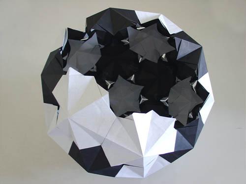 origami soccer ball