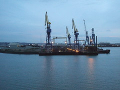 port, vehicle, offshore drilling,