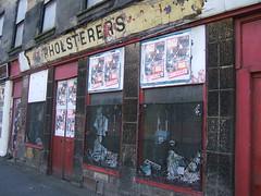Derelict buildings in Glasgow