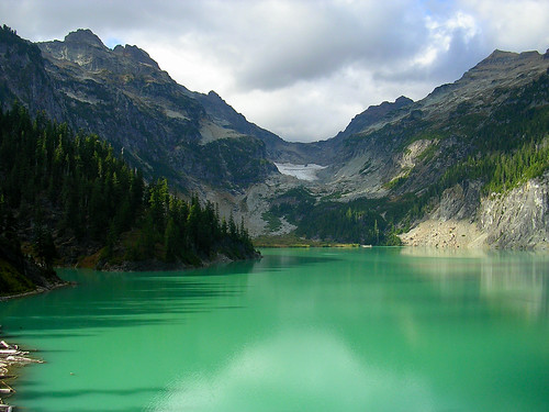 Blanca Lake, Color Boosted