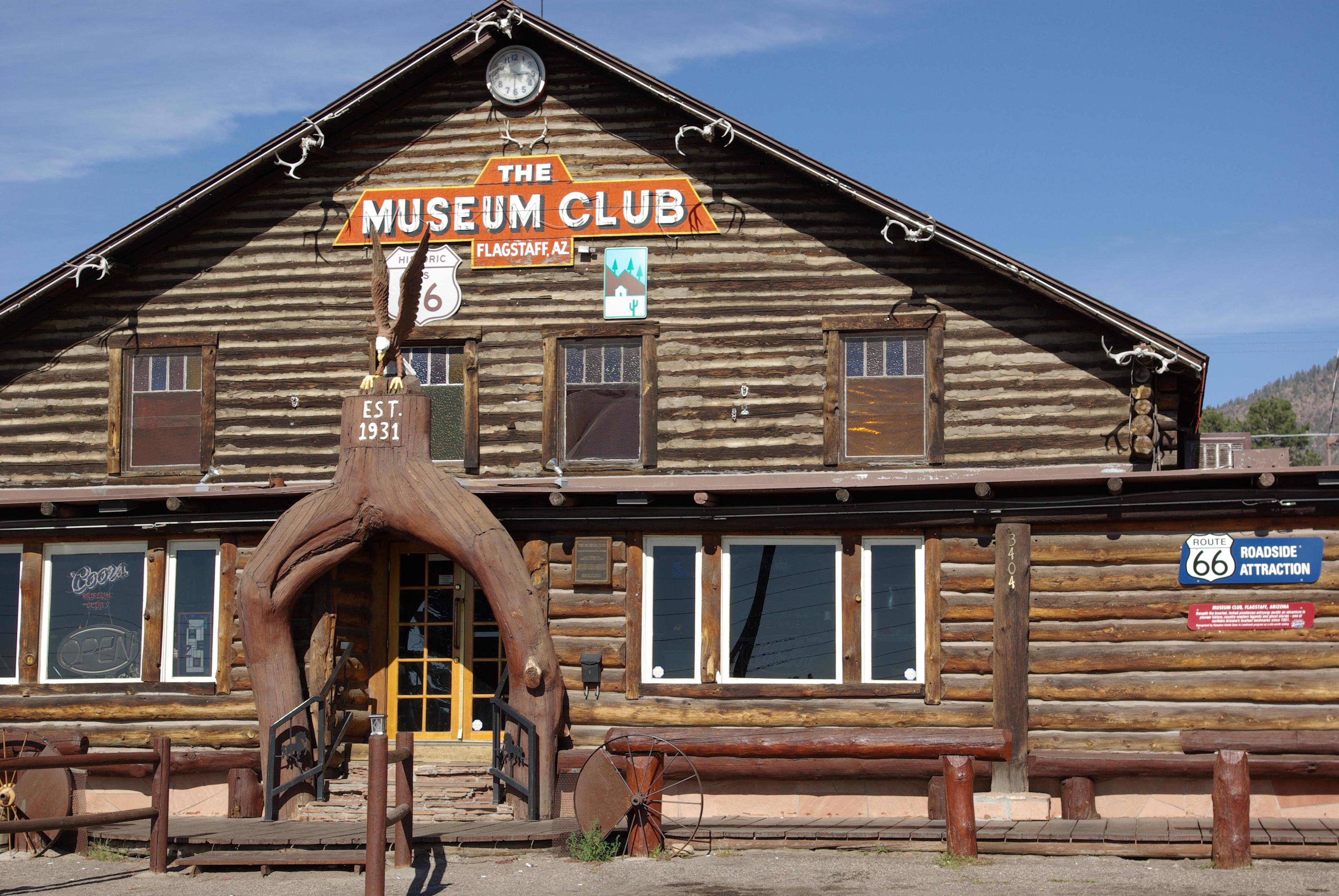 Museum Club Route 66 Flagstaff Az Flickr Photo Sharing