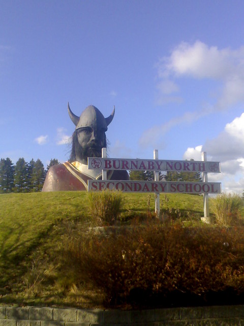 North Burnaby Secondary School Viking