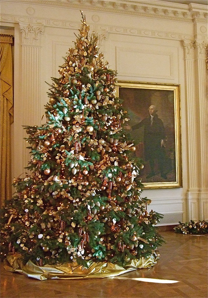 Christmas Tree (East Reception Room, White House)
