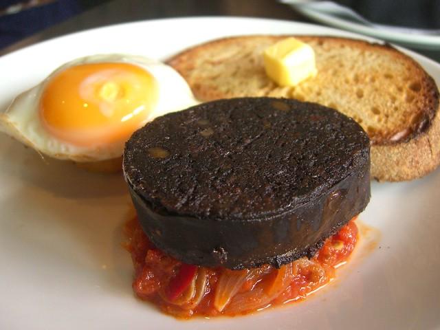 Black Pudding Potato Cake