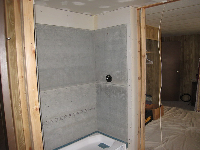 Installing Cement Backer Board On Shower Walls Website