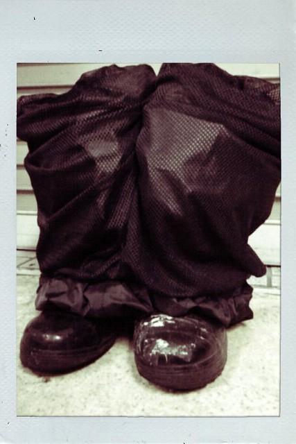 長靴 雨対策